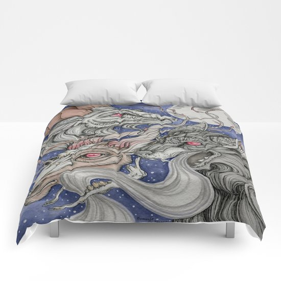 Wolfram and Hart Comforters