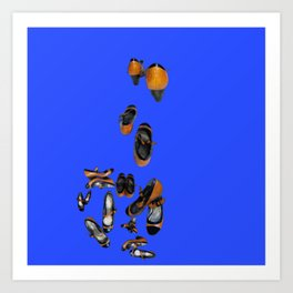 May breaking away in May - Shoes Stories Art Print