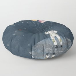 solar collector Floor Pillow