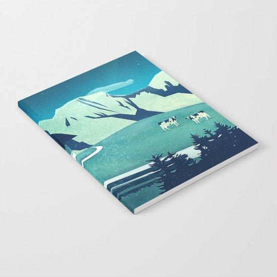 Alpine Hut Notebook