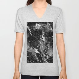 Galaxy (B/W) Unisex V-Neck