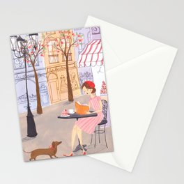 Springtime in Paris Stationery Cards
