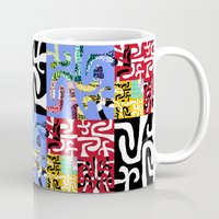 matisse Mugs featuring Matisse by DARWIN STEAD