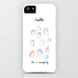 Hello, this is everybody iPhone Case