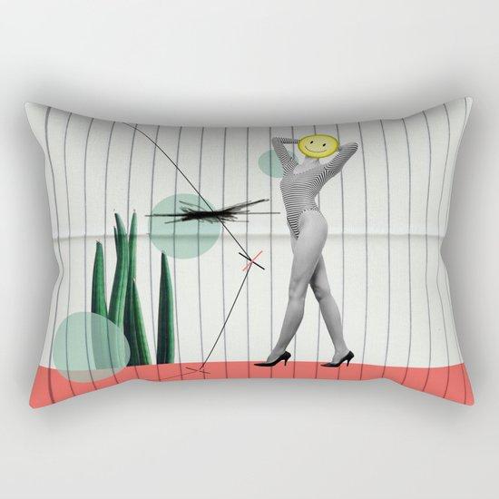 wrong path to selflessness Rectangular Pillow