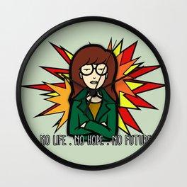 Teenage Angst Wall Clock