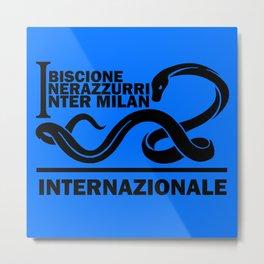 Slogan: I. Milan Metal Print