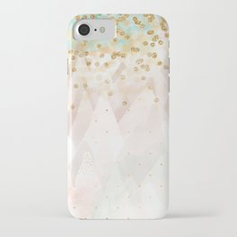Mountains are high iPhone Case