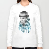grimes Long Sleeve T-shirts featuring Grimes by Nestor