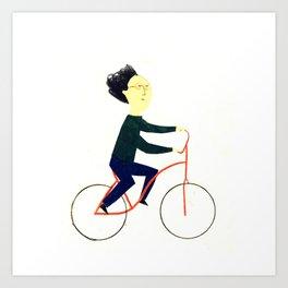 Reason TEN for using bike: Art Print