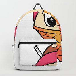 Ice cream Cute Foodie And Ice Cream Fan Gift Backpack