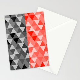 triangle designs Stationery Cards