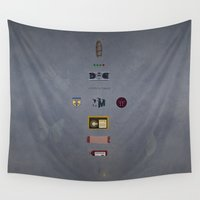 fringe Wall Tapestries featuring Fringe by avoid peril