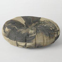 Vincent van Gogh - Boots Floor Pillow