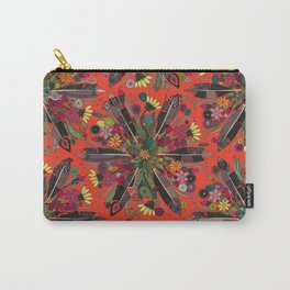 bohemian posy fire Carry-All Pouch