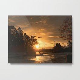 Sunrise in QE Metal Print