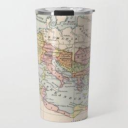 Vintage Map of The Roman Empire (1882) Travel Mug