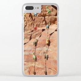 Camel Rock Clear iPhone Case