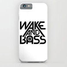 Wake And Bass (Black) iPhone 6s Slim Case