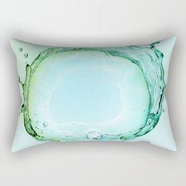 Water Splash Rectangular Pillow