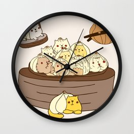 Xiao Long Bao Wall Clock