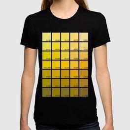 Shades of Yellow Pantone T-shirt