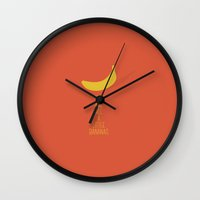 Bananas Wall Clock