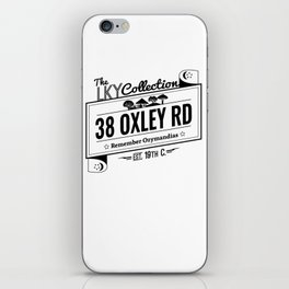 38  Oxley Road iPhone Skin