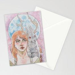 Blue Moon Jackalope Stationery Cards