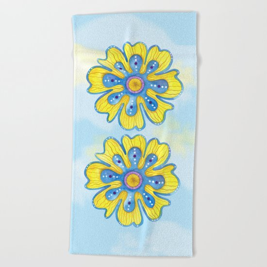Carefree Beach Towel