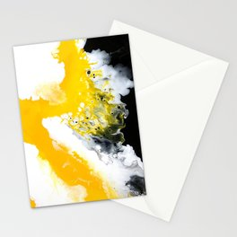 Diffusion -- Abstract Painting Stationery Cards