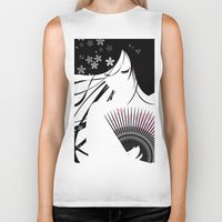 asian Biker Tanks featuring Asian Obsession by DesignDinamique