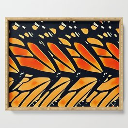 Abstract Monarch Serving Tray