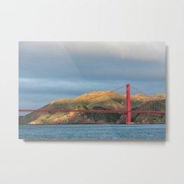 Golden Gate Bridge in San Francisco, California Metal Print