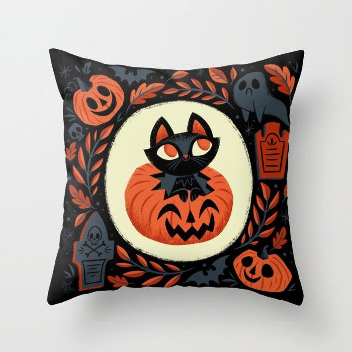 Happy Halloween Deko-Kissen