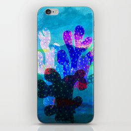 Filtered Coral iPhone Skin