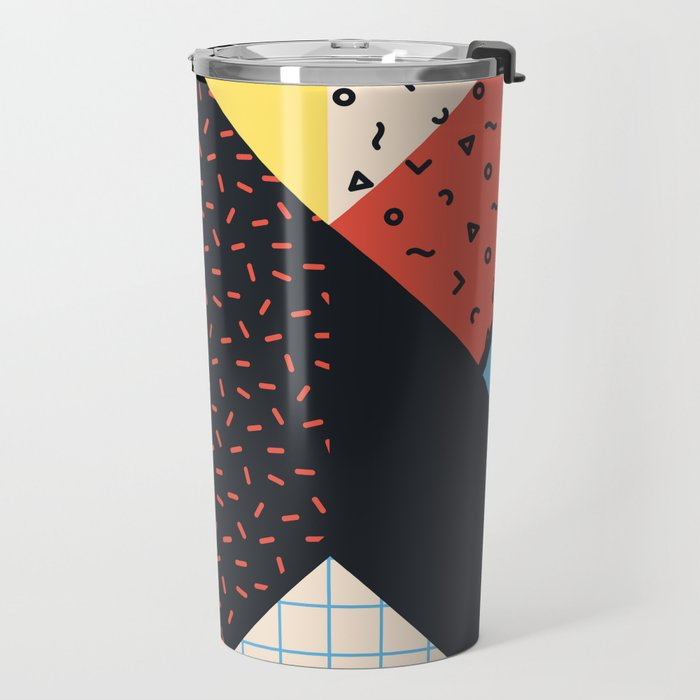 RETROMETRIA BLACK 2 Travel Mug