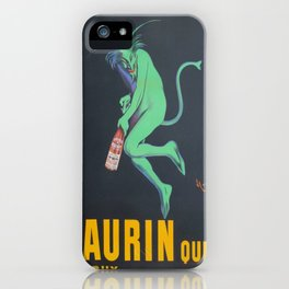 Vintage poster - Maurin Quina iPhone Case