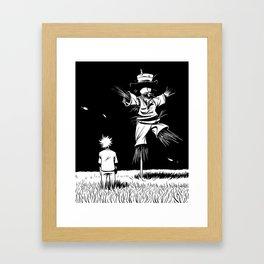Epouvantail  Framed Art Print