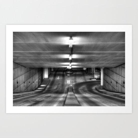 Parken Art Print