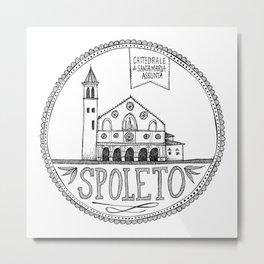 Cattedrale di Santa Maria Assunta, Spoleto Metal Print