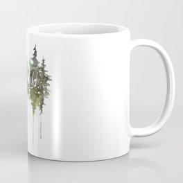 Stay Wild - pine tree stencil words art print Coffee Mug