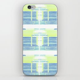 Geometric Background with Client's Logo  iPhone Skin