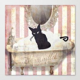 Bad Cat II Canvas Print
