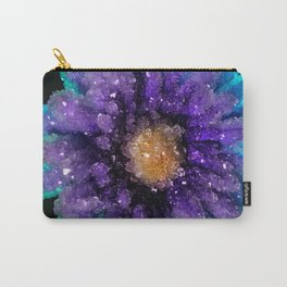 Crystalized Flowers Carry-All Pouch