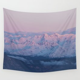 Perfect sunrise in South Tyrol - Landscape and Nature Photography Wall Tapestry