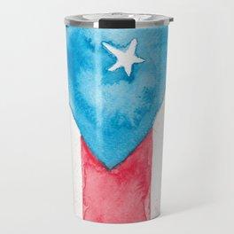 Puerto Rico Watercolour Travel Mug
