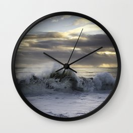 Wave of Love Wall Clock