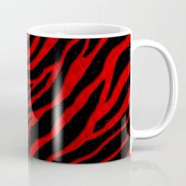 Ripped SpaceTime Stripes - Red Coffee Mug