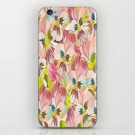 Abundance Of Pink Pansies iPhone Skin